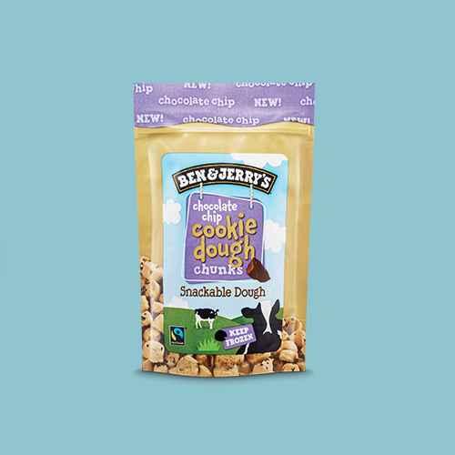 Ben & Jerry's Chocolate Chip Cookie Dough Bites - 8oz