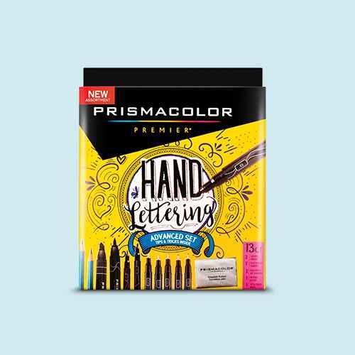 Hand Lettering Advanced Set 13pc - Prismacolor