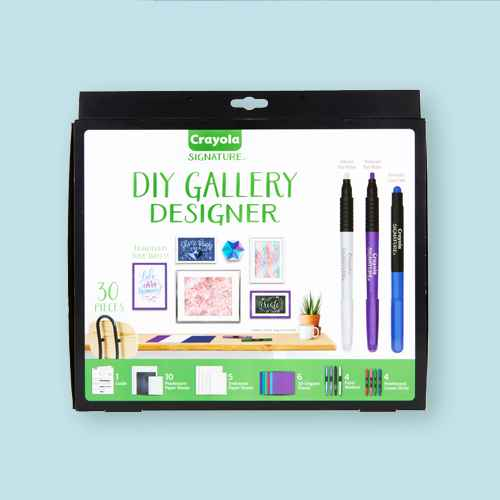 Crayola 30pc DIY Gallery Wall Art Set and Origami Kit
