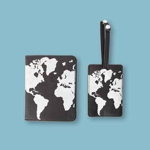 Path Travel Luggage Tag and Passport Holder Set
