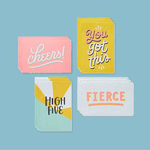 12ct Cheers Lunchbox Mini Notes