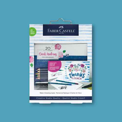 25pc 20 Minute Studio Card Making for Beginners - Faber-Castell