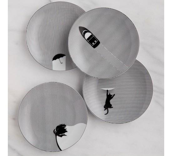 Appetizer Plate Porcelain 6