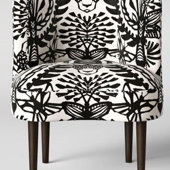 Clary Curved Back Accent Chair - Opalhouse™
