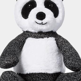 Plush Panda - Cloud Island™ - Black/White