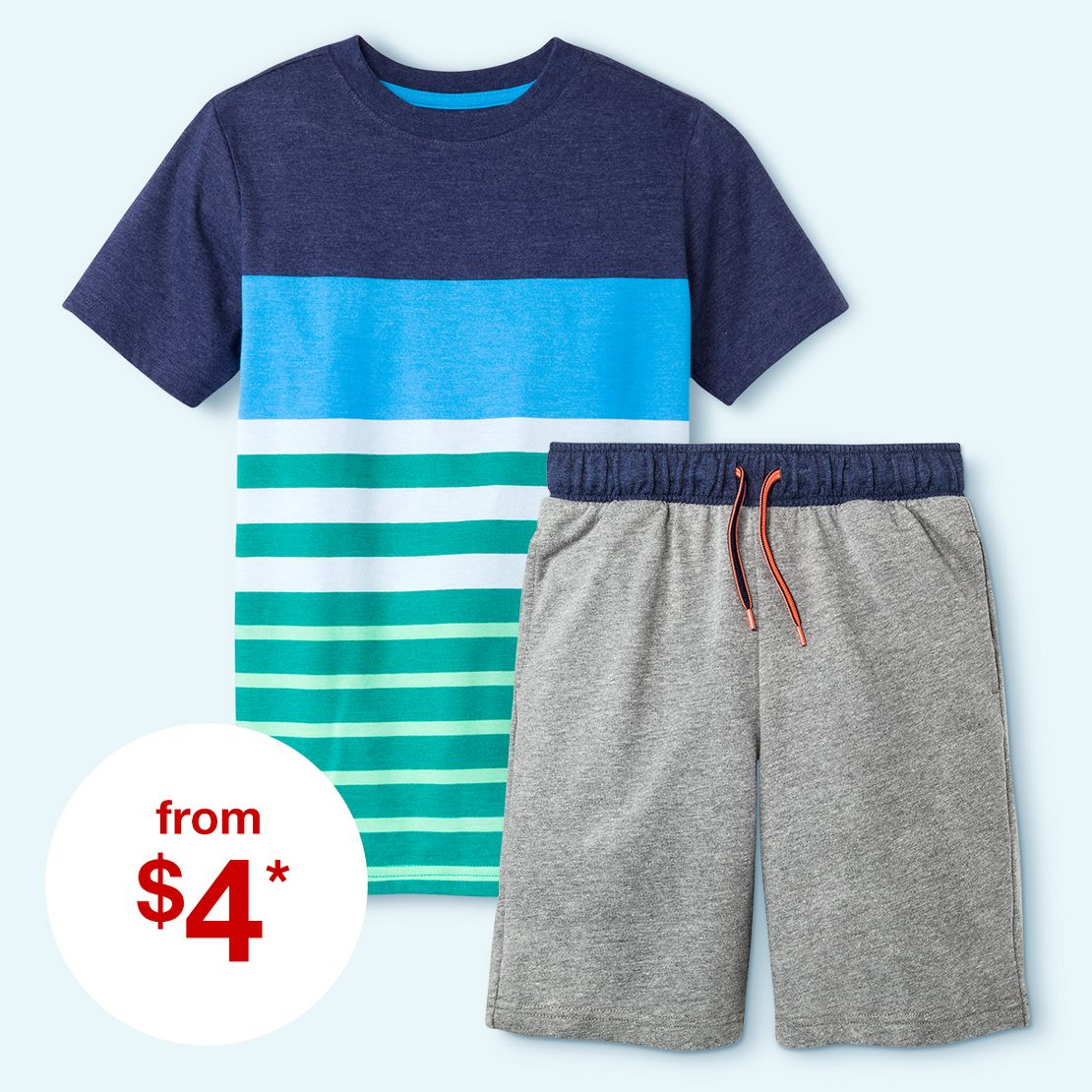Boys' tees and tanks from $4 and shorts ...
