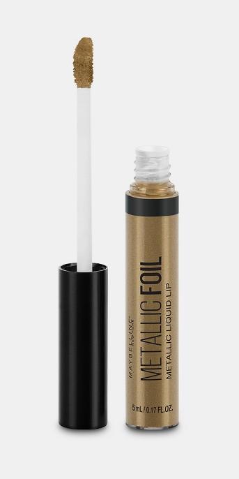 Maybelline Lip Studio Metallic Foil Metallic Liquid Lipstick - 0.17oz