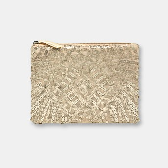 Blush Beaded Bag