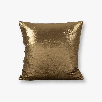 Reversible Sequin Mermaid Throw Pillow