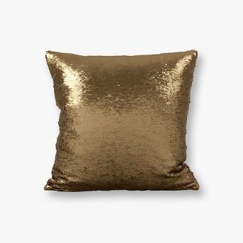 Reversible Sequin Mermaid Throw Pillow