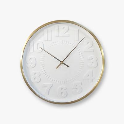 Raised Number 16 inches Wall Clock - Project 62™
