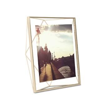 Prisma 8X10 Photo Display - Matte Brass - Umbra