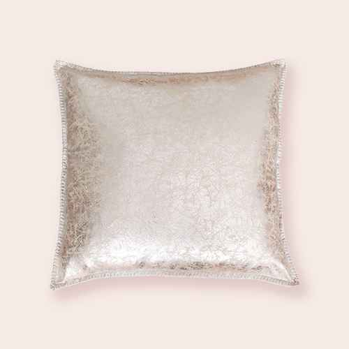 """Dcor Therapy 22""""x22"""" Crackle Whipstitch Pillow"""