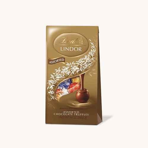 Lindt Lindor Assorted Chocolate Truffles - 6oz