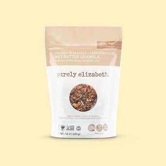 Purely Elizabeth Chocolate Sea Salt & Peanut Butter Nut Butter Granola - 10oz