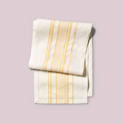 Table Runner Stripe Golden Lotus - Hearth & Hand™ with Magnolia