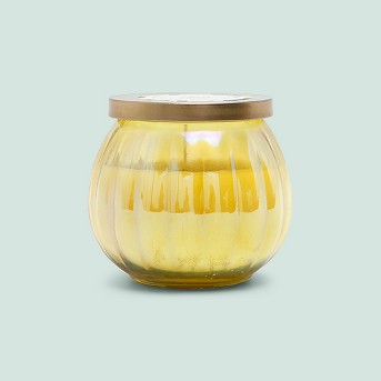 14oz Lidded Glass Jar Candle Lemon Zest & Berry - Fruit Collection - Opalhouse™
