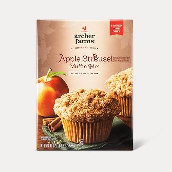 Apple Streusel Muffin Mix - 19oz - Archer Farms™