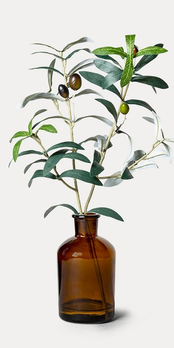 Faux Amber Olive Branch Arrangement - Hearth & Hand™ with Magnolia