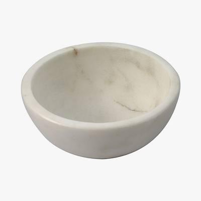 4oz Marble Dip Bowl White - Thirstystone