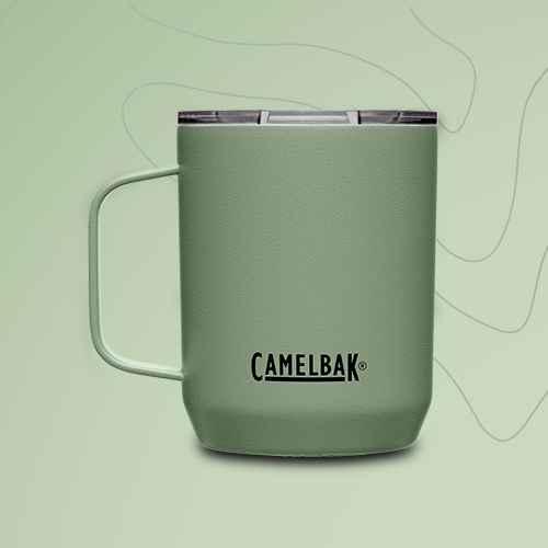 CamelBak 12oz Vacuum Insulated Stainless Steel Camp Mug - Green