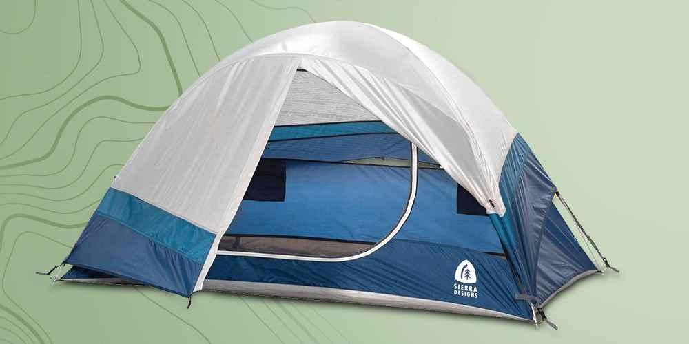 Sierra Designs Crescent 2 Person Dome Tent - Blue
