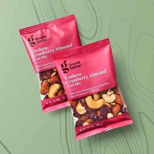 Cashew Cranberry Almond Trail Mix - 10oz/10ct  - Good & Gather™