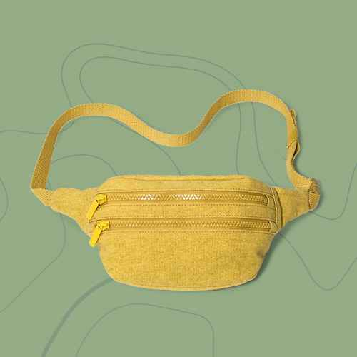Zip Closure Hip Bag - Wild Fable™ Yellow