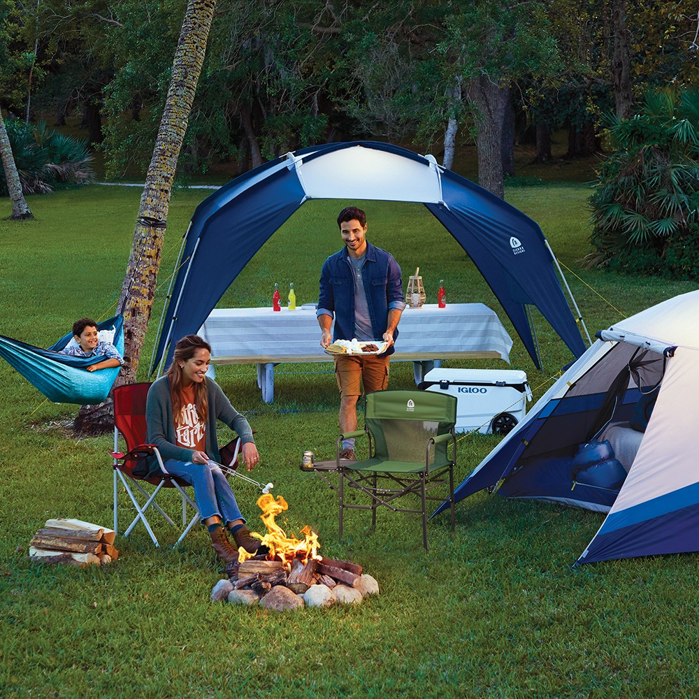 Sierra Designs Aspen Meadow 8 Person Dome Tent - Blue