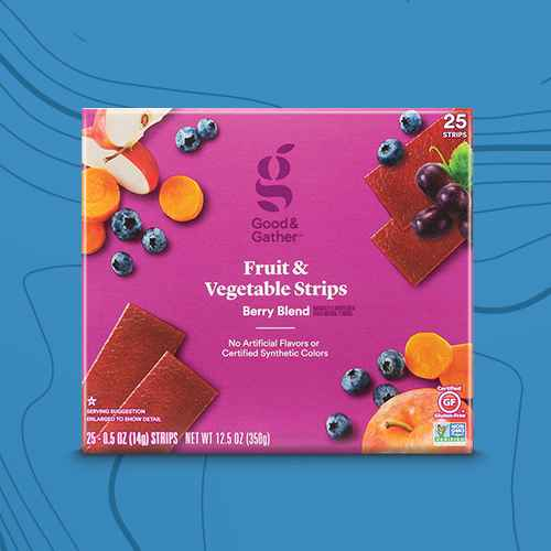Berry Blend Fruit and Veggie Strips - 12.5oz/25ct - Good & Gather™