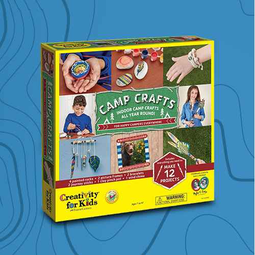Creativity For Kids Camp Crafts Project Kit
