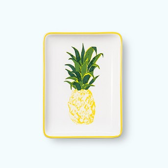 Rectangle Jewelry Storage Tray Pineapple - Opalhouse™