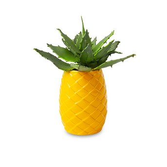 Pineapple Planter Yellow - Sun Squad™
