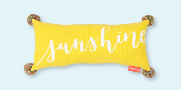 Lumbar Sunshine Outdoor Pillow - Opalhouse™