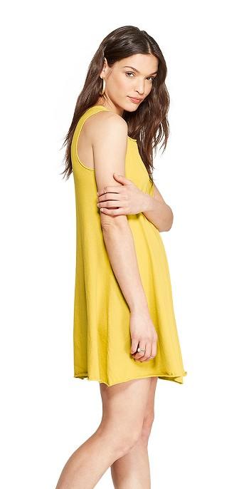 Women's Sleeveless V-Neck At Knee Tank Dress - Universal Thread™