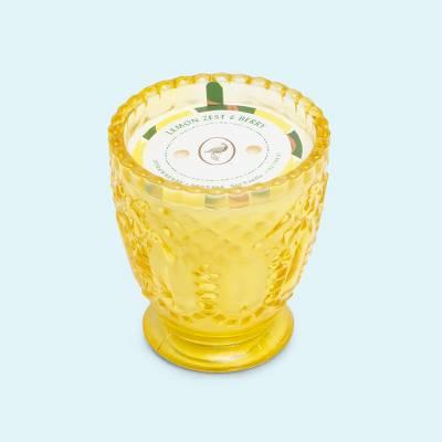 7oz Glass Jar Candle Lemon Zest & Berry - Fruit Collection - Opalhouse™