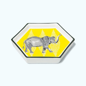 Hexagon Jewelry Storage Tray Elephant - Opalhouse™