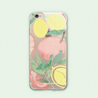 Apple iPhone 8/7/6s/6 Case Lemon Fresh - OTM Essentials