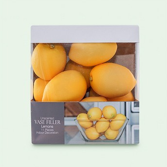Lemon Vase Filler Yellow 11pc - Lloyd & Hannah
