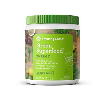 Amazing Grass Green Superfood Energy Lemon Lime 30 Servings