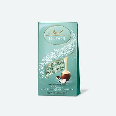 Lindt Lindor Coconut Milk Chocolate Truffles - 6oz
