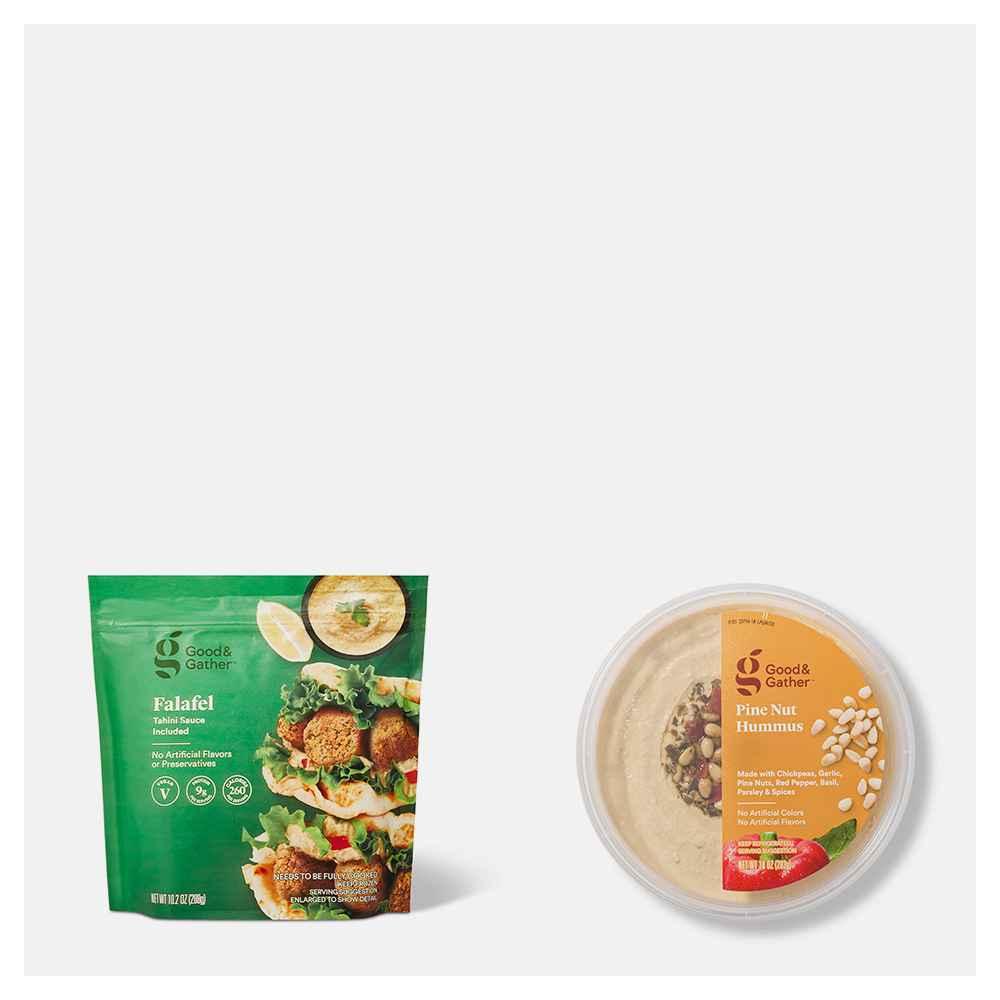 Frozen Vegan Falafel with Tahini Sauce - 10.2oz - Good & Gather™