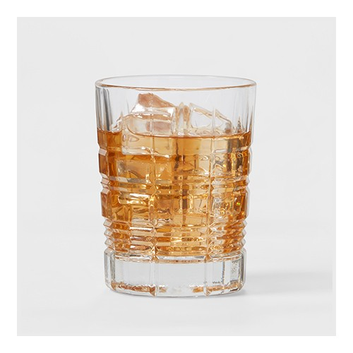 12pc Glass Assorted Beveled Tumblers - Threshold™