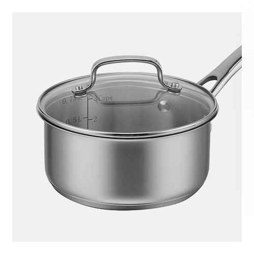 Cuisinart Classic 1qt Stainless Steel Saucepan with Cover - 8319-14