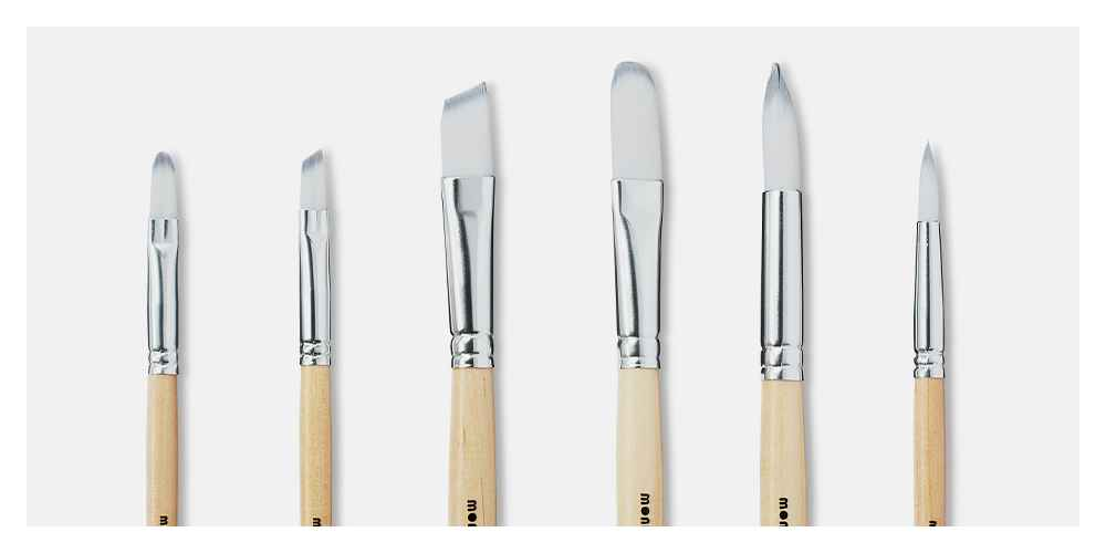 6pc Artist Paintbrush Set - Mondo Llama™