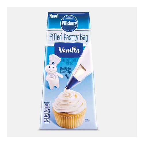 Pillsbury Vanilla Flavored Filled Pastry Bag - 16oz