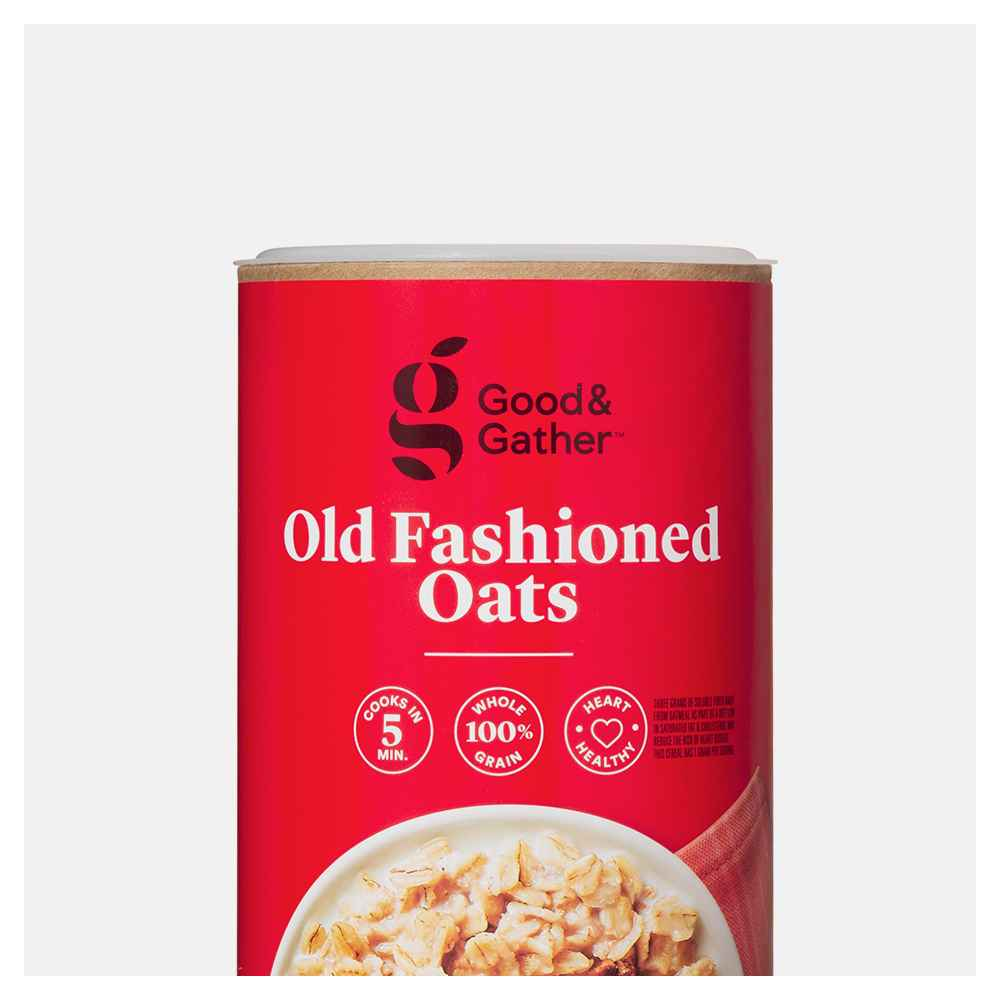 Old Fashioned Oats - 18oz - Good & Gather™, Organic Old Fashioned Oats - 18oz - Good & Gather™