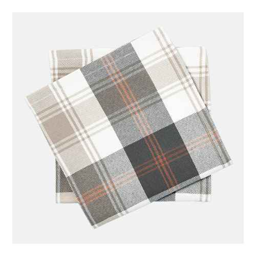 4pc Fall Tartan Plaid Woven Napkin Set - Hearth & Hand™ with Magnolia