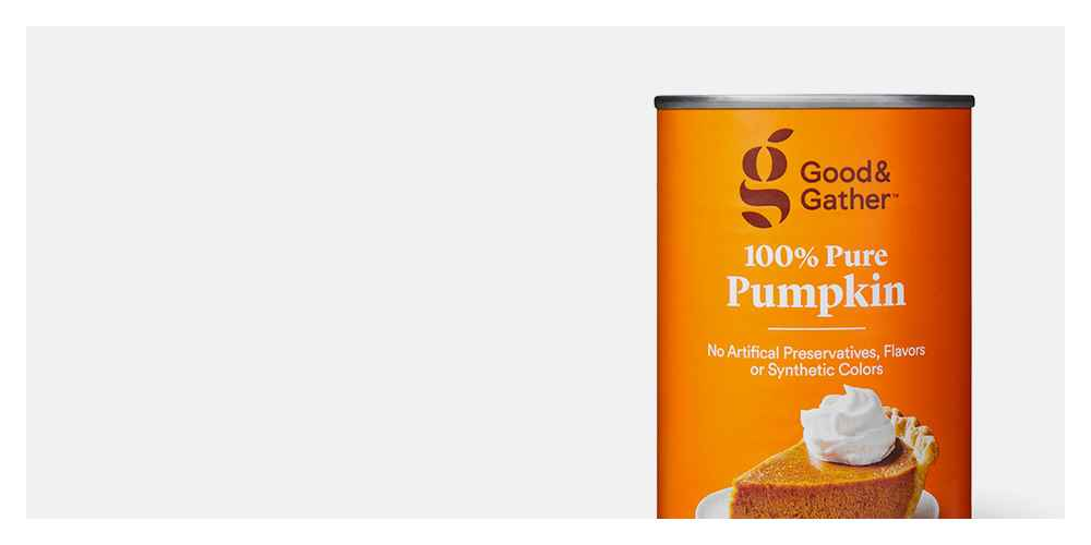 100% Pure Pumpkin - 15oz - Good & Gather™, Organic Pumpkin - 15oz - Good & Gather™