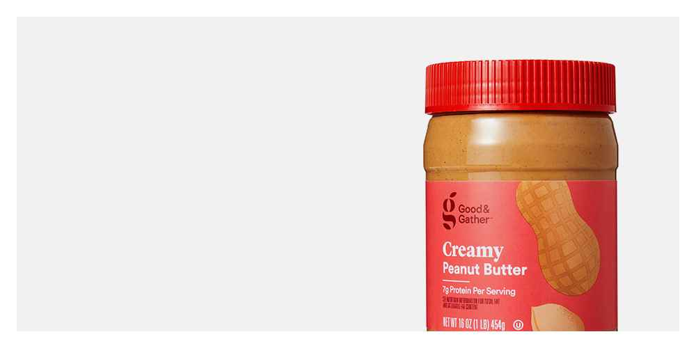 Creamy Peanut Butter 16oz - Good & Gather™
